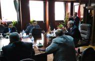 دسوقى يلتقى الخبير الدولى أشرف عبد البصير رئيس ميكور للخدمات البترولية لمناقشة الأنظمة الحديثة لحماية المحطات من الحرائق وتآكل المعدات