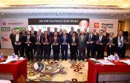 الاتحاد العالمي للاسمدة يمنح الميدالية الذهبية لشركة ابوقير للاسمدة في مجال السلامة والصحة المهنية