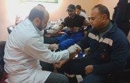 مستشفى البترول بالأسكندرية تبدأ العام الجديد بفحص طبي شامل للعاملين بشركة إيبروم