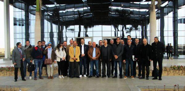 وفد من البنك الأهلي المصري في زيارة المنطقة الصناعية بشرق بورسعيد لدعم المشروعات التنموية