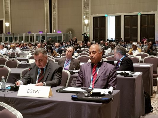 صور لوفد وزارة الكهرباء اثناء مشاركته في المؤتمر السنوي للوكالة الدولية للطاقة المتجددة