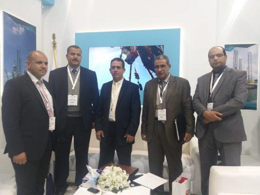 جناح الحفر المصرية يشهد اقبالاً كثيفاً من الشركات العالمية والمصرية بمعرض البترول ايجبس 2019