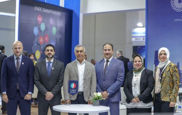 بترول الإمارات الوطنية تعلن عن خططها لتوسعة نطاق عملياتها بقطاع الطيران في مصر علي هامش مشاركتها بمعرض اجيبس