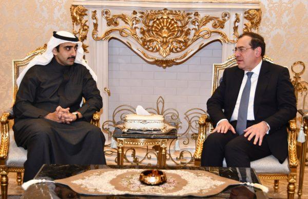 وزير البترول يلتقي نظيره البحريني لمناقشة الموقف التنفيذي للشركة المصرية البحرينية لمشتقات الغاز بمنطقة خليج السويس