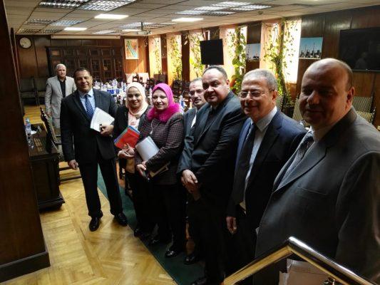 صور خاصة لموقع باور نيوز عقب انتهاء الجمعية العامة للشركة المصرية لنقل الكهرباء