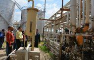 وفد من نقابة المهندسين يزور مجمع خلط الزيوت التابع لشركة مصر للبترول