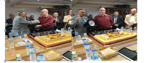 احتفالية بشركة شمال سيناء للبترول لتكريم المهندس محيي الدين عبد الفتاح