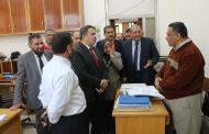 بالصور .. رئيس جنوب القاهرة للتوزيع يتفقد قطاعات الشركة بالديوان العام ويطالب العاملين بالمزيد من الجهد لتحسين معدلات الاداء