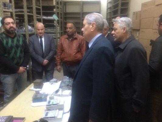 بالصور .. رئيس شركة شمال القاهرة للتوزيع يتفقد الان إدارة شبكات وإيرادات شبرا الخيمة