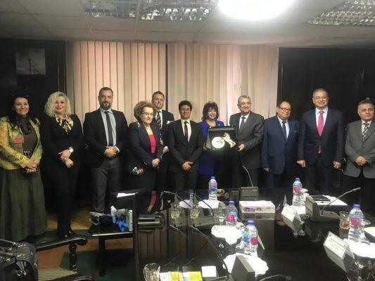 وزير الكهرباء يستقبل رئيس إتحاد المستثمرات العرب ووفد من أكبرمستثمري الطاقةفىاليونان
