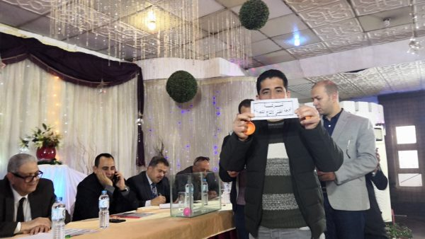 بالصور .. قيادات وزارة الكهرباء تسحب قرعة الدورة الرمضانية الثالثة للعاملين بشركات الكهرباء