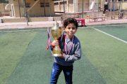 فريق براعم اسكندرية للبترول يحصد كأس دورة حديد عز لكرة القدم