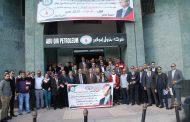 بترول أبوقير تواصل المشاركة بكثافة في اليوم الثاني من الاستفتاء علي التعديلات الدستورية