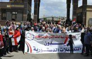 بقيادة ضرغام .. العاملون بكافة مواقع وسط الدلتا للانتاج يشاركون في الاستفتاء الدستوري لليوم الثاني