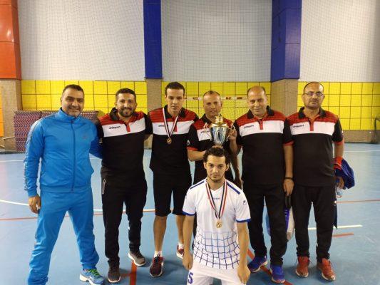 فريق كهرباء القاهرة يقتنص كأس البطولة العربية لكرة الصالات للمرة السابعة