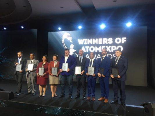 مشروع الضبعة يحصل على جائزة روساتوم لافضل ٣ مشروعات نووية من حيث الانطلاقة