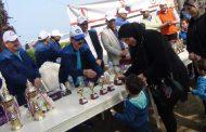 بالصور .. بترول أبو قير تُقيم مهرجاناً رياضياً احتفالاً بيوم اليتيم