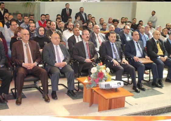 تحت رعاية الجيولوجي محمد عبد السلام .. بترول أبو قير تواصل عقد ندواتها للتعريف بأهمية التعديلات الدستورية
