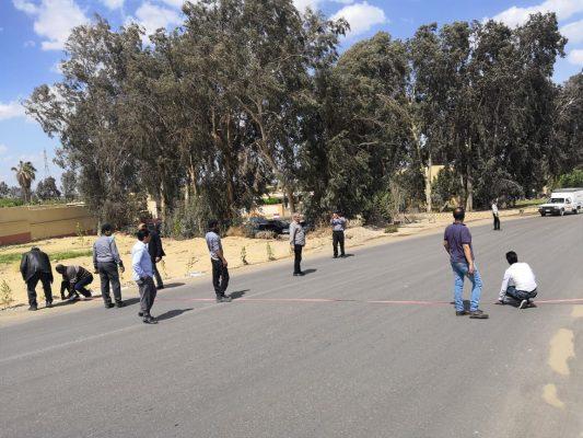 قيادات نقل الكهرباء والمحيط للامن والحراسة يتابعون ترسيم حدود أرض محطة القاهرة 500 استعداداً لاقامة سور