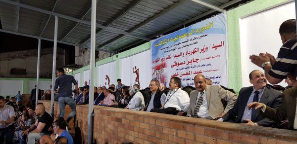بالصور .. عسران وقيادات وزارة الكهرباء يفتتحون الدورة الرمضانية للعاملين بشركات القطاع