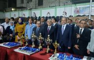 وزير الكهرباء يسلم جوائز الدورة الرمضانية للشركات الفائزة وفريق شمال القاهرة يحتل المركز الاول