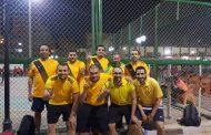 فريق اوسوكو يتغلب علي نظيره ايجاس بهدف نظيف في الدورة الرمضانية لكرة القدم للعاملين بالبترول