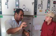 بالصور .. رئيس شركة القناة لتوزيع الكهرباء يشهد اطلاق التيار الكهربائي لانفاق تحيا مصر ببورسعيد