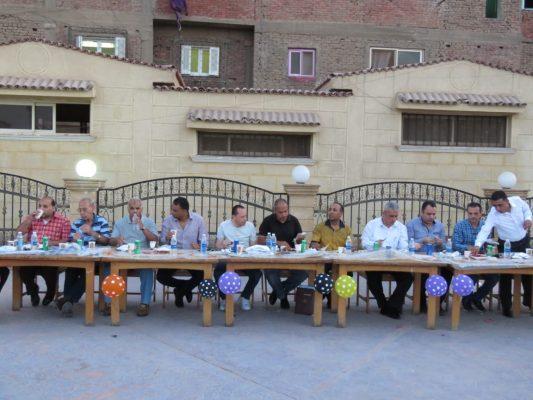 بالصور .. إعلام نقابة البترول ينظم حفل إفطار جماعي بحضور المكتب التنفيذي