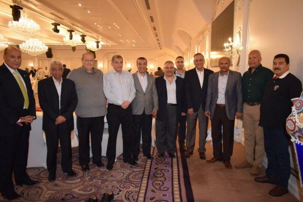 تحت رعاية المهندس صبري الشرقاوي تواصل الاجيال في افطار شركة رشيد للبترول