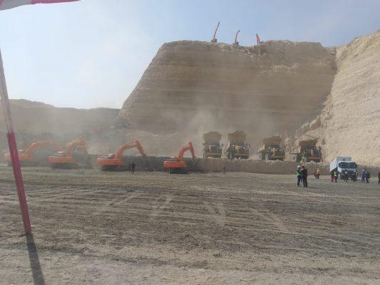 التحالف الصينى CSCEC يرسل وفد خلال أيام لبدء المفاوضات النهائية مع شركة الوادي بعد فوزه بتنفيذ مشروع حامض الفوسفوريك