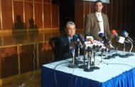 شاكر يبدأ مؤتمره الصحفى للاعلان عن اسعار شرائح الكهرباء الجديدة بعرض انجازات القطاع