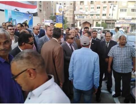 رئيس شركة مصر للبترول يفتتح محطة كوم أوشيم بمحافظة الفيوم بعد تطويرها