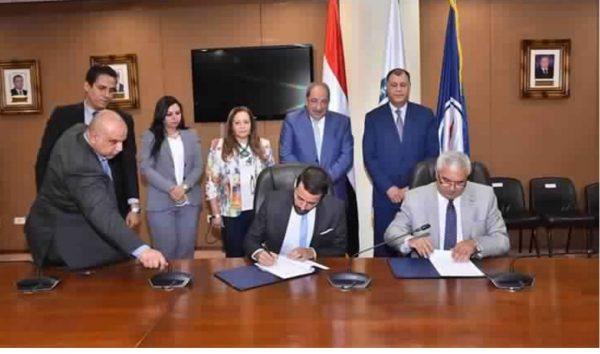 بحضور عز الرجال وحسين .. توقيع بروتوكول تعاون بين هيئة البترول وجامعة «اسلسكا» لتدريب قيادات الشركات