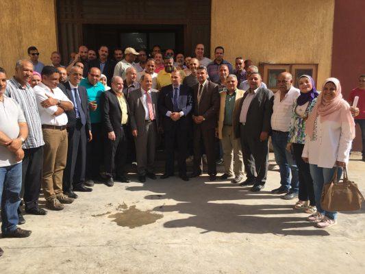 الدستاوى فى زيارة لشركة الإسكندرية لتوزيع الكهرباء لمتابعة تنفيذ التحكمات الآلية