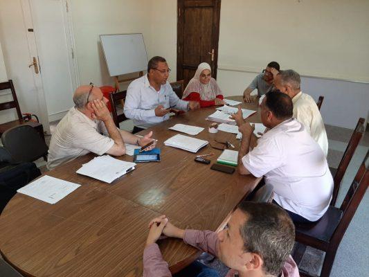 اجتماع اليوم بين السويدى وهايديلكو ومنطقة مصر الوسطى للوقوف على تطورات تنفيذ خط شرق العوينات - الوادى الجديد