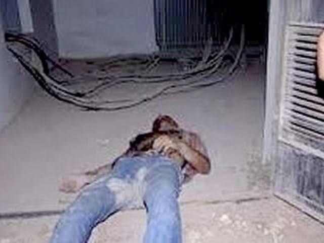 احتراق وجه لص بالكامل حاول سرقة غرفة كهرباء بشركة شمال الدلتا للتوزيع