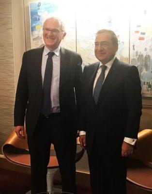 مسئولو جهاز الطاقة وهيئة كهرباء فرنسا خلال لقاءهما الملا فى باريس : سوق الغاز المصرى أصبح أكثر جاذبية عالميا