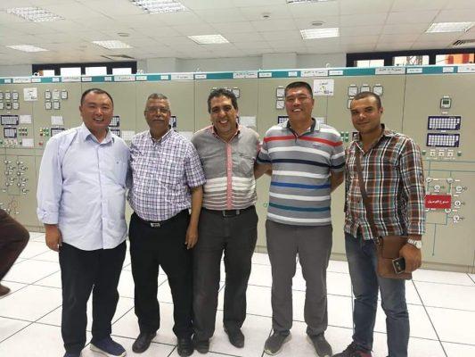عاجل .. اطلاق الجهد فى خط غرب البرلس - ابو المطامير 500 KV لربط محطة توليد سيمنس بالشبكة القومية