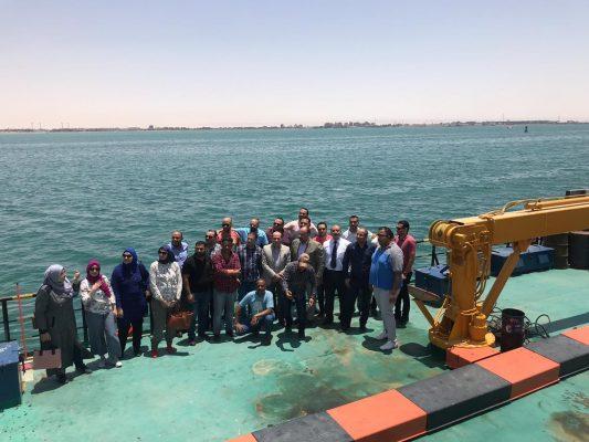 رئيس بتروتريد في زيارة الي هيئة موانئ البحر الاحمر لتفعيل بروتوكول تجميع الزيوت والمخلفات البترولية