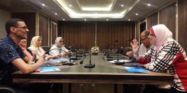 لجنة التطوير بمستشفي البترول بالاسكندرية تعقد اجتماعاً لمناقشة تحسين مستوي الخدمة المقدمة للمرضي