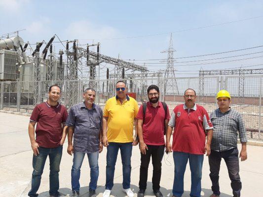 نقل الكهرباء تتفقد منظومة المراقبة الأمنية لعدد من محطات محولات منطقة الدلتا بعد تسلمها رسميا