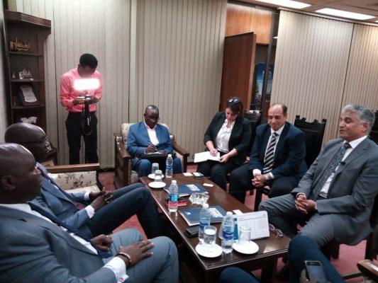 جمعية رجال الأعمال تبحث فرص الاستثمار والتجارة بين القاهرة وجوبا