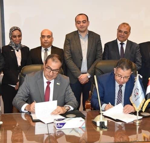 بروتوكول تعاون بين معهد بحوث البترول وجامعة الدلتا لانشاء الكلية التكنولوجية للبترول والطاقة