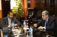 وزير الكهرباء يبحث مع القائم بأعمال السفير السوداني مستجدات مشروع الربط الكهربائى بين مصر والسودان