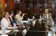 البنك الاوربى لاعادة الاعمار يشيد بانجازات قطاع الكهرباء فى مصر ويبدى رغبته فى مزيد من التعاون والاستثمار فى مجمع بنبان الشمسى