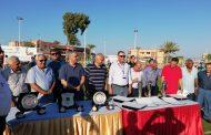 رئيس الهيئة وقيادات البترول في ختام الدورة الودية لكرة القدم الخماسية بالمنطقة الشمالية