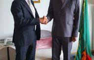 رئيس زامبيا يستقبل المهندس احمد السويدى على هامش مؤتمر طوكيو الدولى للتنمية فى افريقيا