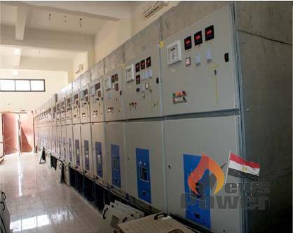 اطلاق الجهد اليوم فى محطة محولات شرق بنى مزار جهد 66 KV