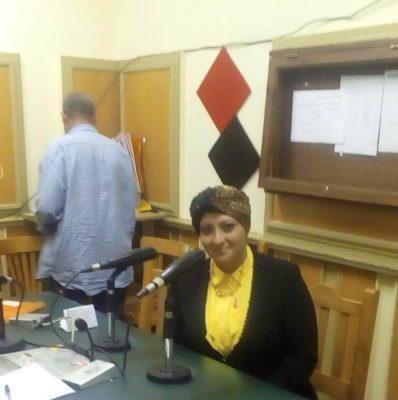 المهندسة حنان الكاشف بنت نقل الكهرباء تتحدث عن دور المرأة في بناء الأحزاب والمشاركة الايجابية في الحياة السياسية