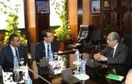 وزير الكهرباء يستقبل الرئيس التنفيذى لشركة فودافون مصر لبحث سبل التعاون